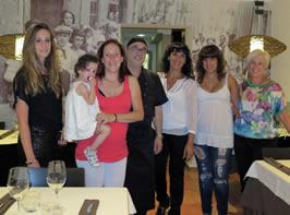 La família del restaurant el Xic